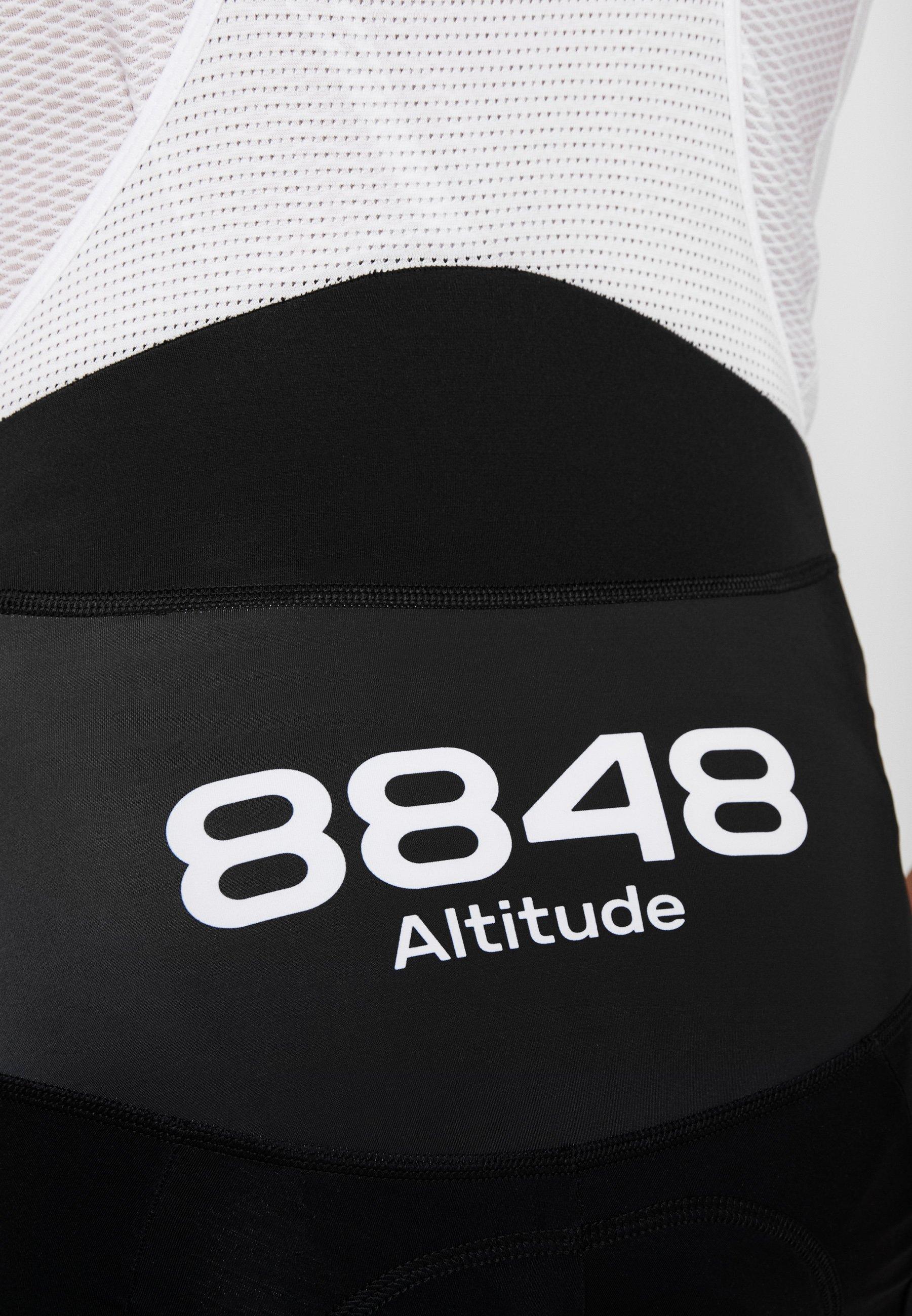 8848 Altitude SANTO BIKE BIB SHORTS 2.0 - Legginsy - reflecting pond