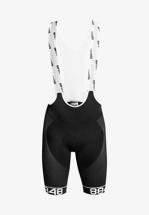 SANTO BIKE BIB SHORTS 2.0 - Tights - black