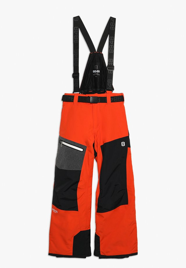 DEFENDER PANT - Schneehose - red clay