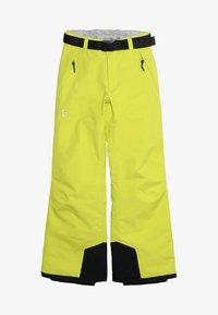 8848 Altitude - INCA PANT - Snow pants - lime - 4