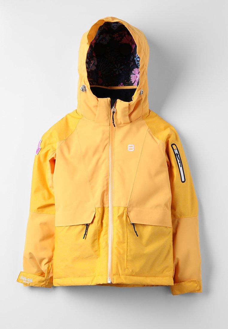 8848 Altitude - FLOWER JACKET - Ski jacket - clementine