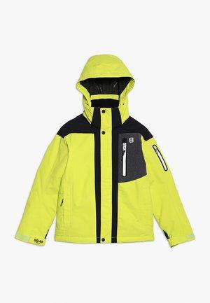 ARAGON JACKET - Lyžařská bunda - lime