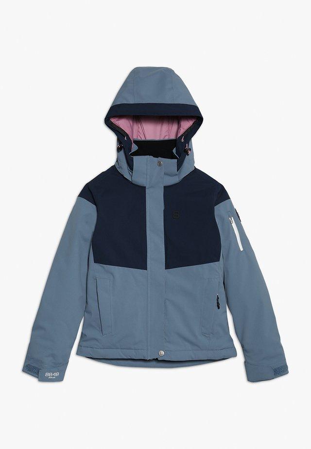 FLORINA JACKET - Ski jacket - pearl blue