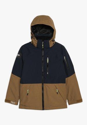 KAMAN JACKET - Ski jacket - bronze