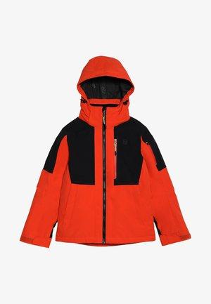 KELLET JACKET - Lyžařská bunda - red clay