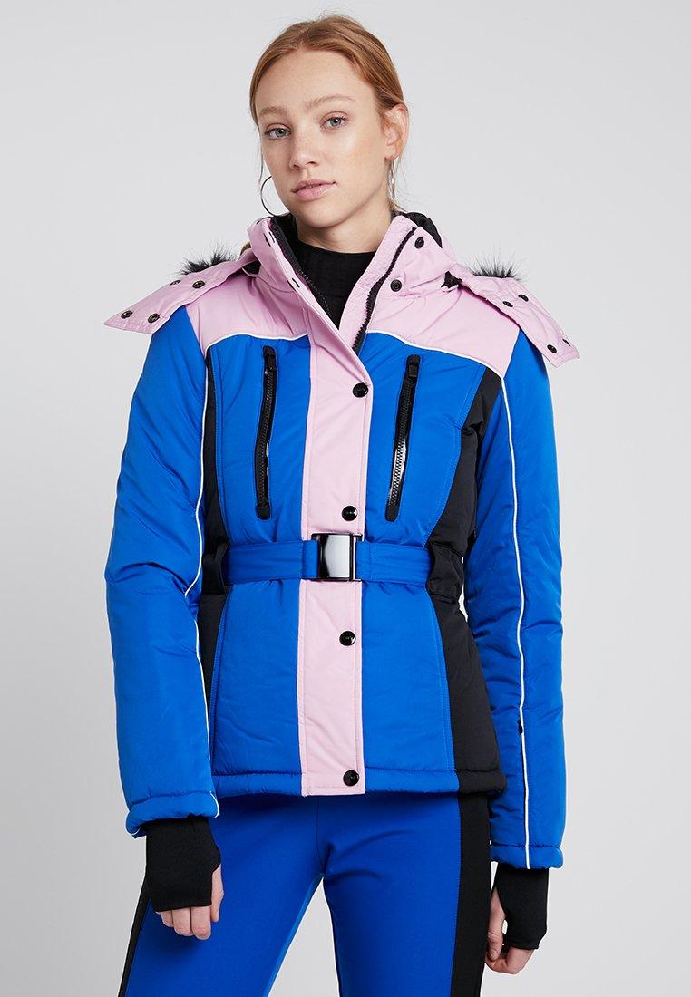 Topshop - SNO BLOCK GERI - Skijakker - blue