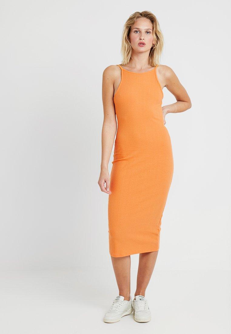 New Look - STRAPPY VARY - Etuikleid - orange
