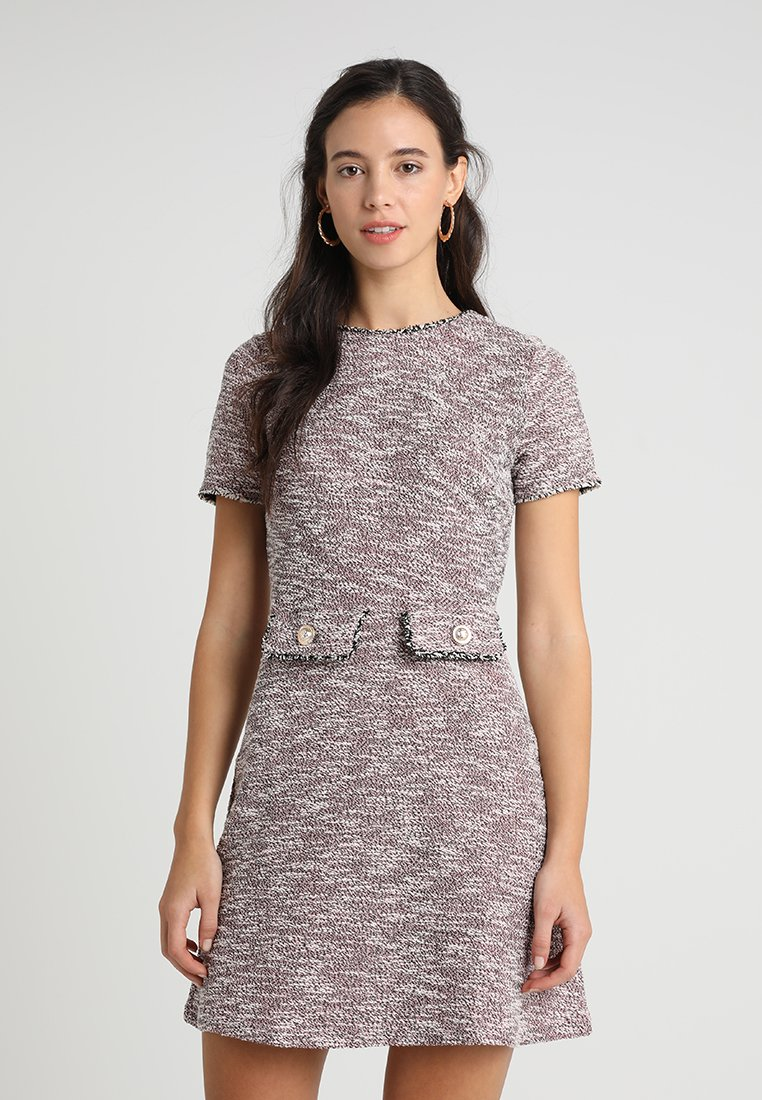 Dorothy Perkins - TRIM SHIFT - Freizeitkleid - pink