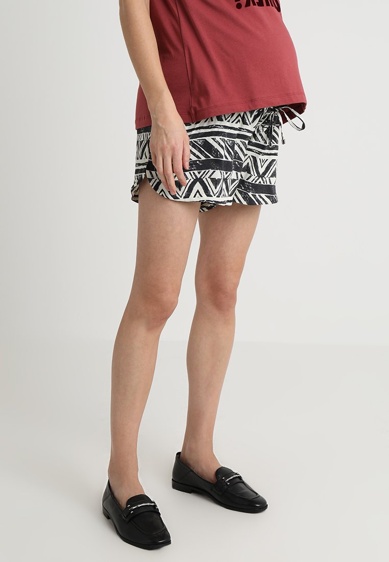 9Fashion - GINGER - Shorts - black/white