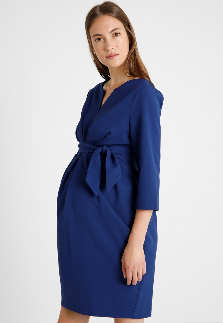 9Fashion - DAVEA DRESS  - Day dress - navy
