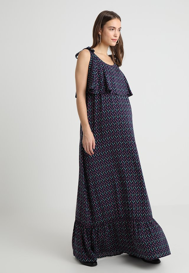 JUNONA - Maxi dress - dark blue