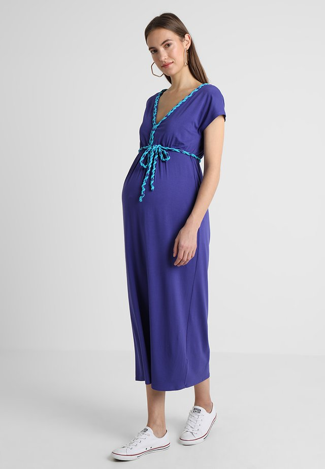 Maxi dress - cobalt
