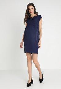9Fashion - MOJRY - Pouzdrové šaty - dark blue - 1