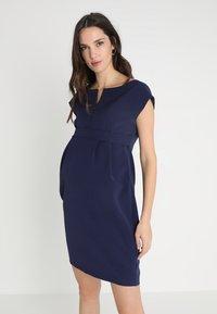 9Fashion - MOJRY - Pouzdrové šaty - dark blue - 0