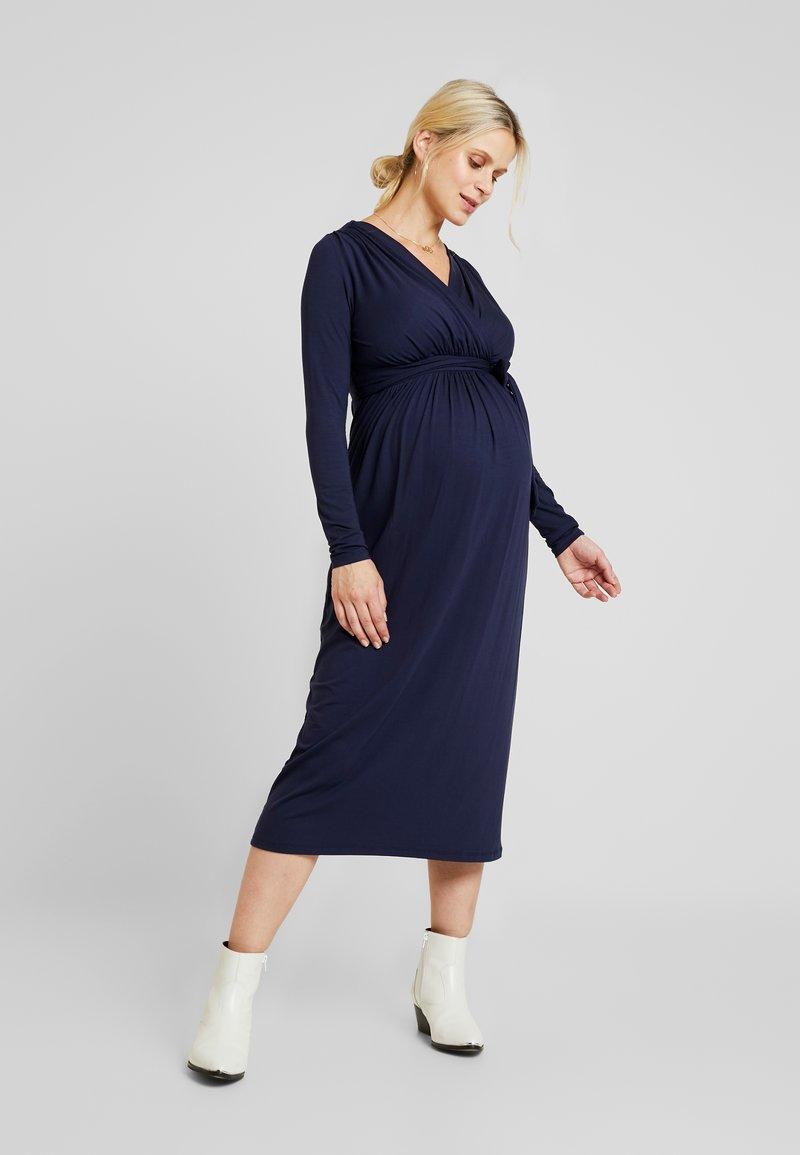 9Fashion - VOLTERA - Jersey dress - blue