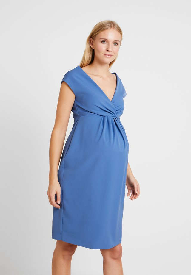 CAPPAMORA - Day dress - indigo
