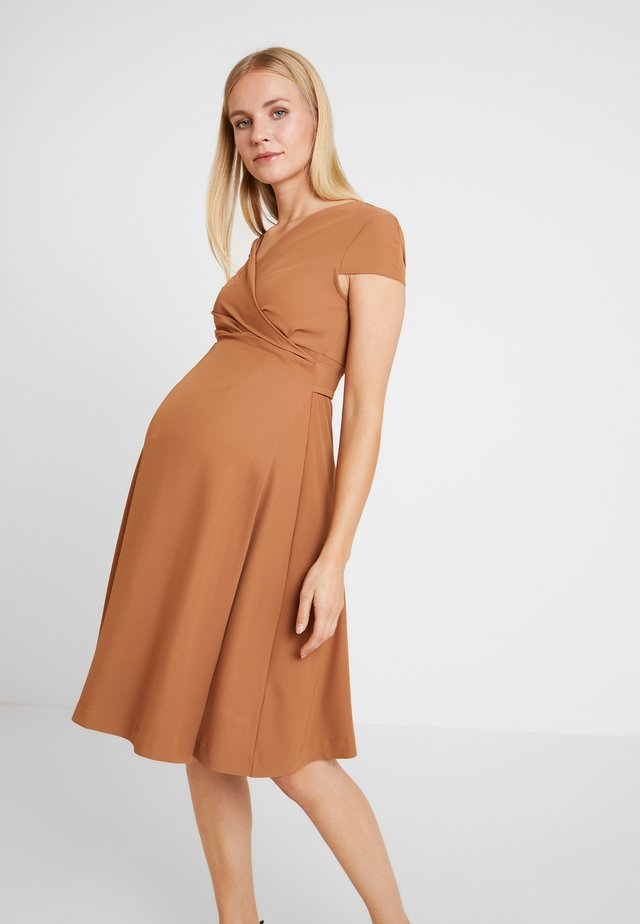 HEREBEL - Day dress - caramel