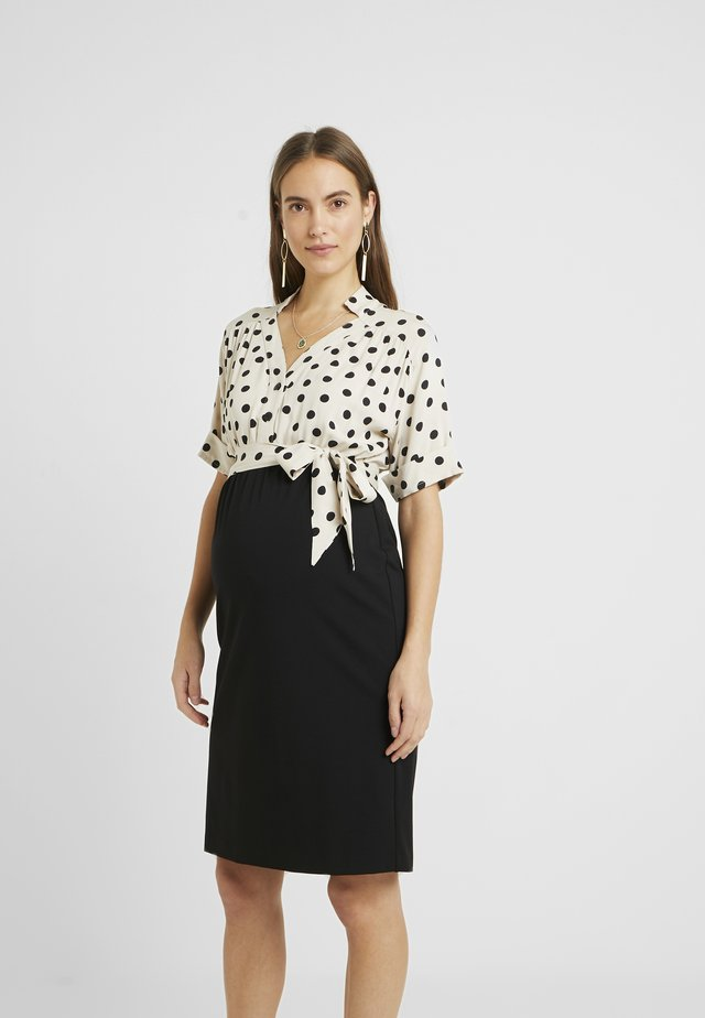 POMALA - Jerseyklänning - cream