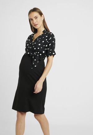 POMALA - Jerseyklänning - black