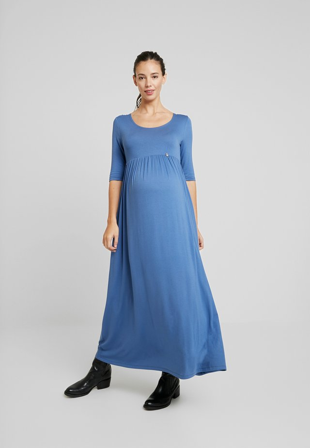 RECORA - Jersey dress - indigo
