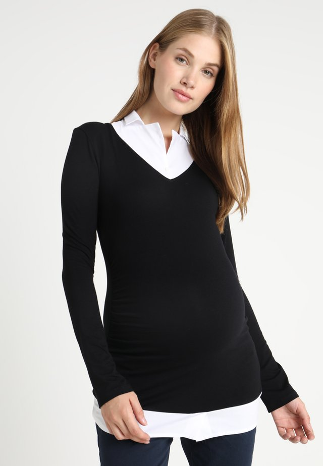 MADELINE - Long sleeved top - anthracite
