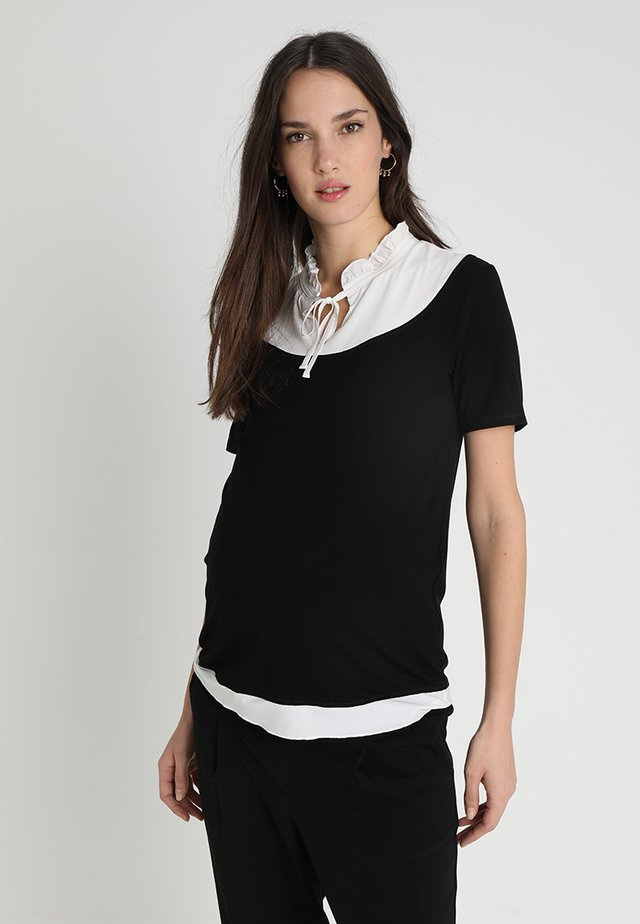 BOTA - Print T-shirt - black