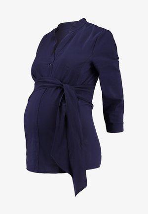 ORTO - Blouse - navy blue
