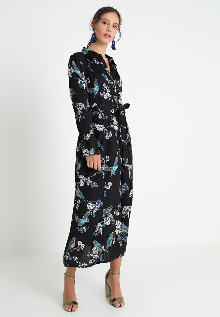 Cream - MARGOT SHIRT DRESS - Maxikleid - jet black