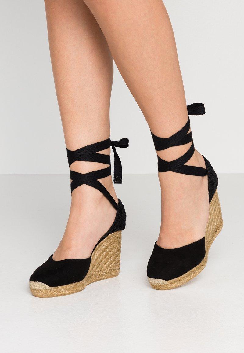 ALDO - MUSCHETT - High heeled sandals - black