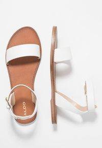 ALDO - CAMPODORO - Sandals - white - 3