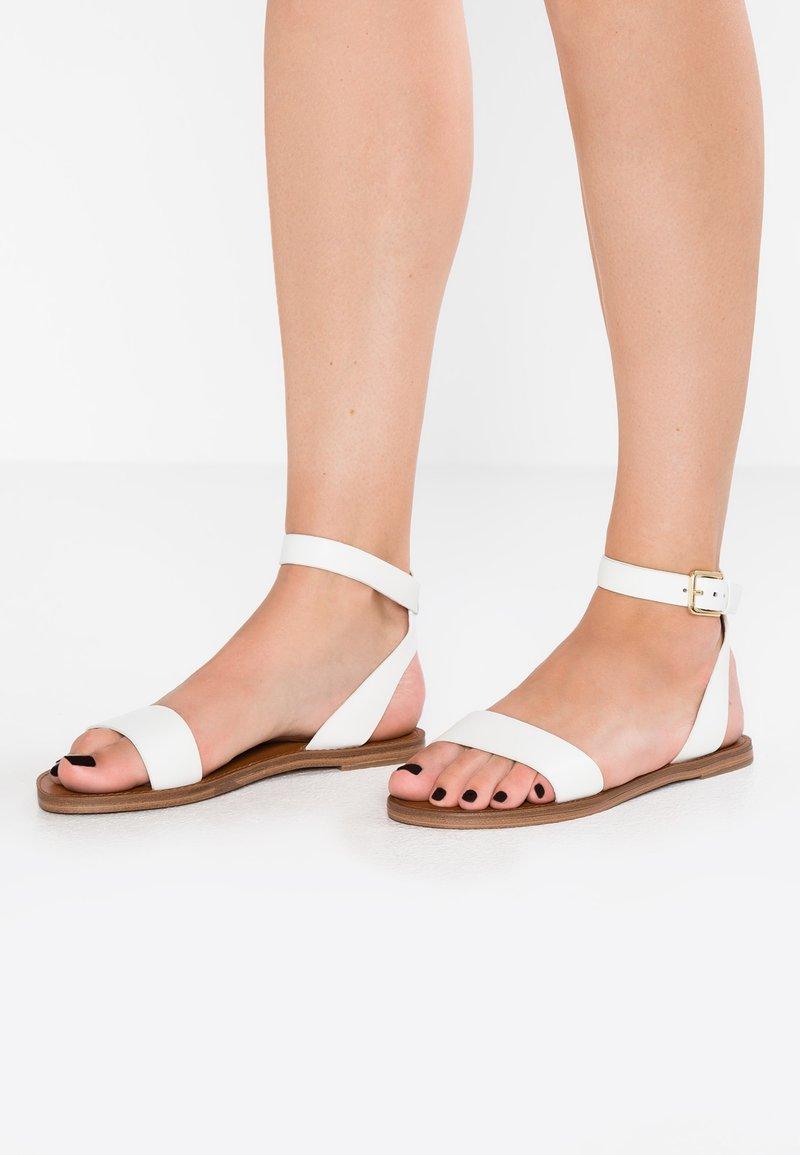 ALDO - CAMPODORO - Sandals - white