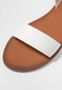 ALDO - CAMPODORO - Sandals - white - 2