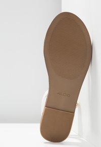 ALDO - CAMPODORO - Sandals - white - 6