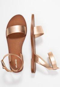 ALDO - CAMPODORO - Sandals - nude - 3