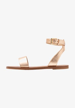 CAMPODORO - Sandaalit nilkkaremmillä - nude