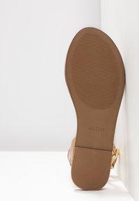 ALDO - CAMPODORO - Sandals - nude - 6