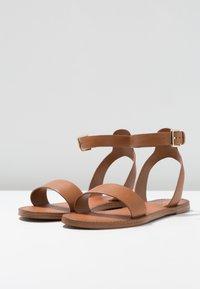 ALDO - CAMPODORO - Sandals - cognac - 4