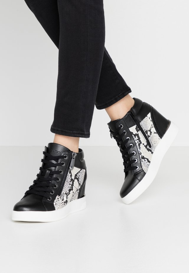 AILANNA - High-top trainers - silver