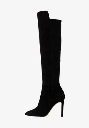 QOIDIA - Boots med høye hæler - black