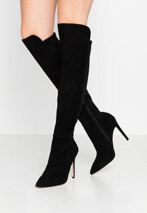 QOIDIA - Højhælede støvler - black