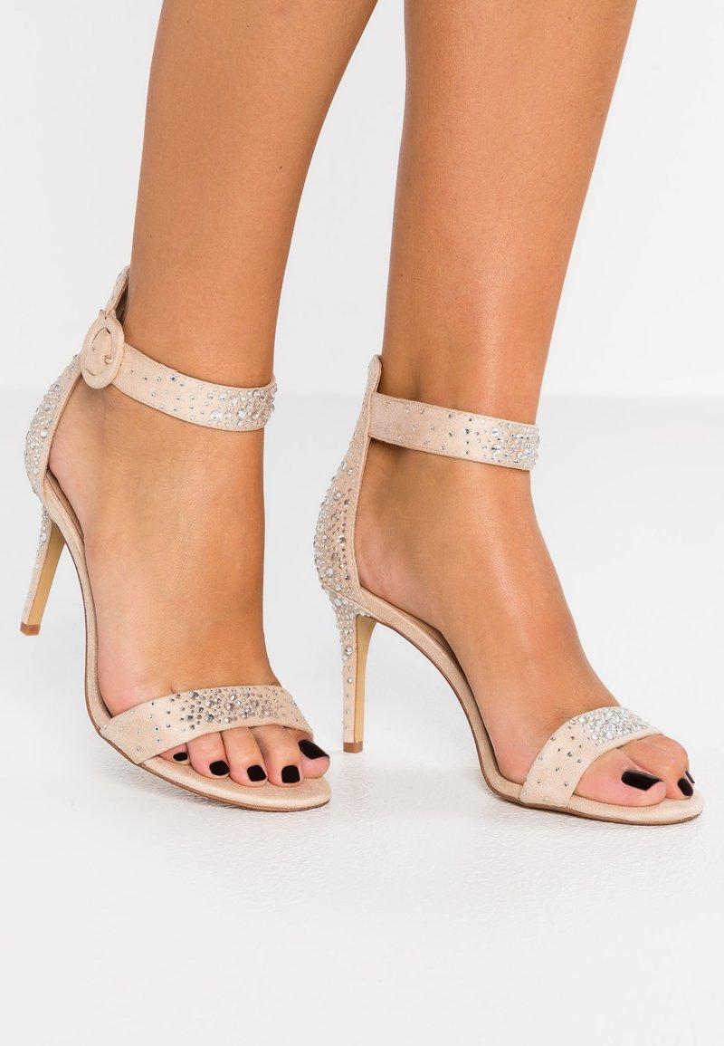 ALDO - UMARDOSSA - Højhælede sandaletter / Højhælede sandaler - bone