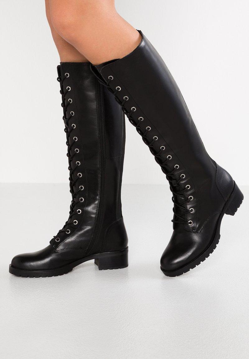 ALDO - BENDETTI - Lace-up boots - black