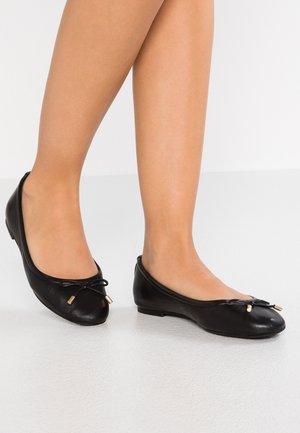 UNELAMMA - Ballet pumps - black