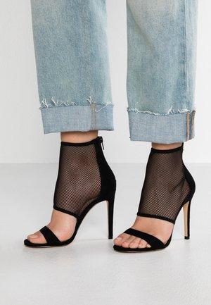 ELALINI - High heeled sandals - black