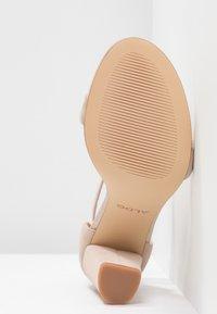 ALDO - JERAYCLYA - Sandaler med høye hæler - bone - 6