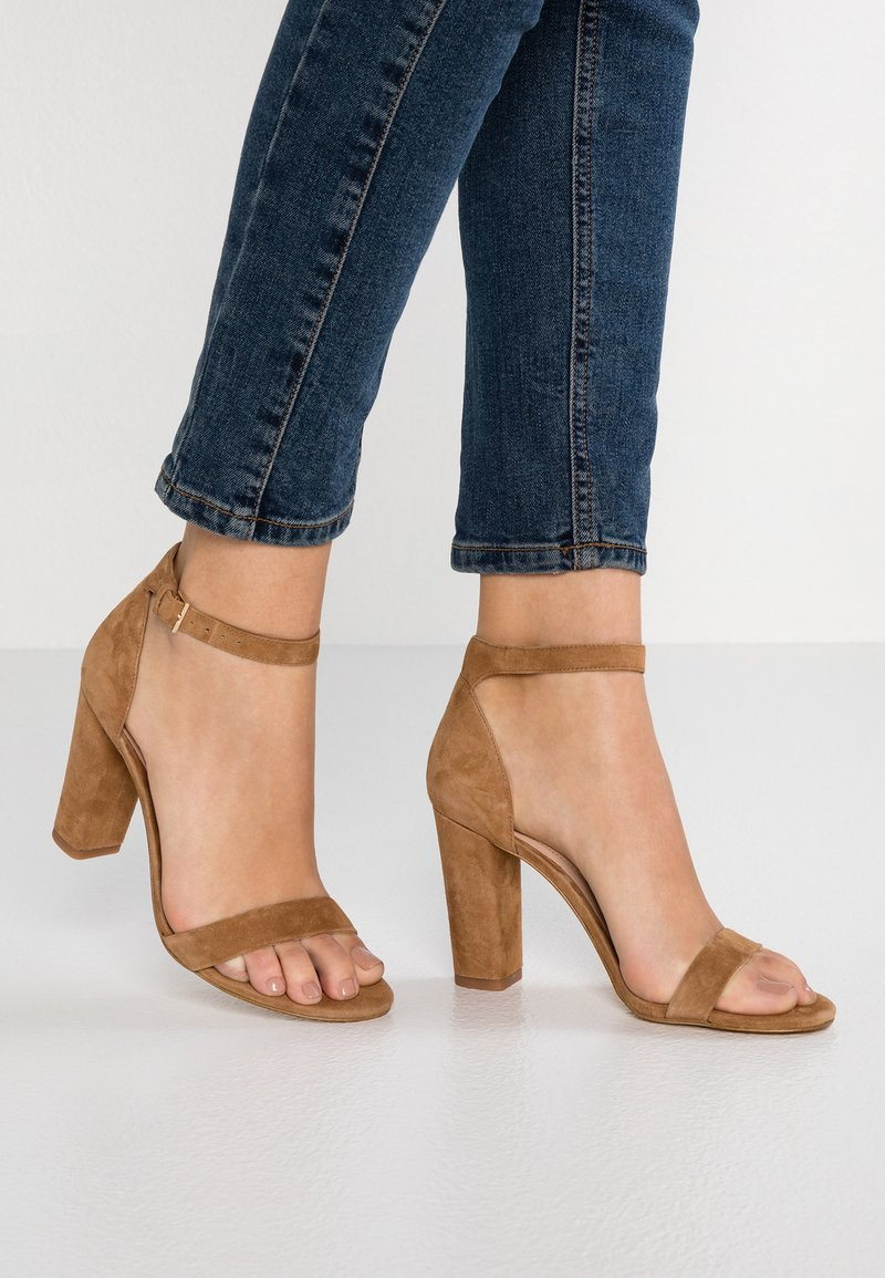 ALDO - JERAYCLYA - High Heel Sandalette - brown