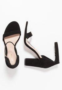 ALDO - JERAYCLYA - Sandaler med høye hæler - black - 3