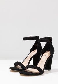 ALDO - JERAYCLYA - Sandaler med høye hæler - black - 4