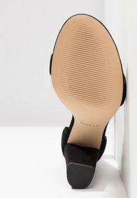 ALDO - JERAYCLYA - Sandaler med høye hæler - black - 6