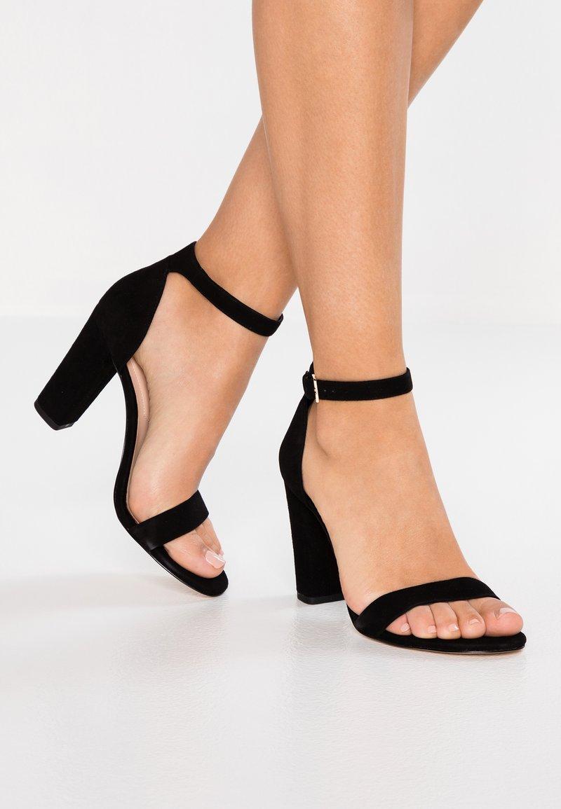 ALDO - JERAYCLYA - Sandaler med høye hæler - black